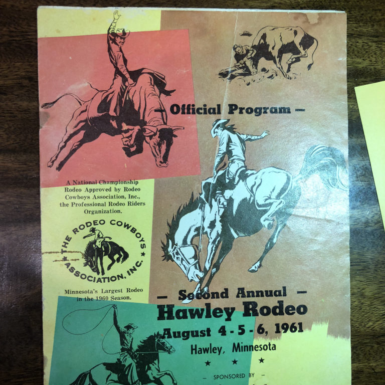 RCA Official Program - August 4, 5 and 6 1961