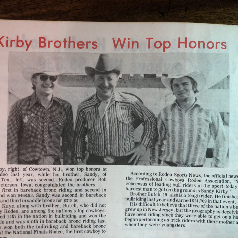 Kirby Brothers Win Top Honors